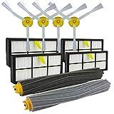 Slri Filter-Seitenbürsten Clean-Ersatzwerkzeug-Kit für iRobot Roomba 800 866 876 900