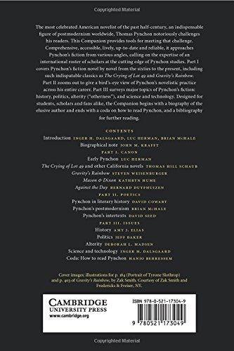 The Cambridge Companion to Thomas Pynchon Paperback (Cambridge Companions to Literature)