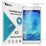 Samsung galaxy J7 Cristal Templado,Vikoo 0.3mm 9H 2.5D Shatterproof Protector de pantalla de Vidrio Templado para Samsung galaxy J7