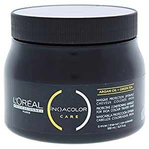 L'Oreal INOA Color Care Protective Conditioning Masque With Argan Oil and Green Tea, 500ml