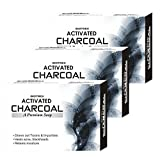 Biotrex Activated Charcoal Soap - Pack of 3