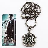 #8: Harry Potter Slytherin Metal Pendant Necklace