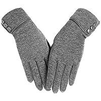 Reebok Damen Gestrickt 100% Cotton Handschuhe Grau Handschuhe & Fäustlinge Damen-accessoires