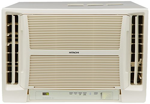 Hitachi 1.5 Ton 5 Star Window AC (RAV518HUD Summer QC, White)