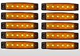 10 x 12V 12 VOLT SMD 6 LED...