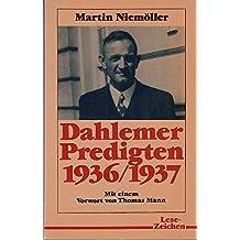 Dahlemer Predigten 1936/37