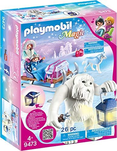 PLAYMOBIL Magic 9473 Trol Nieve Trineo Efecto Luz