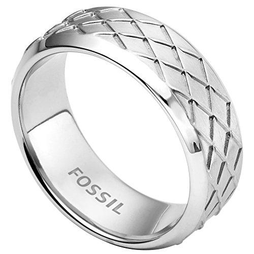 Fossil Herren-Ring Edelstahl Gr. 54 (17.2) - JF02064040-9