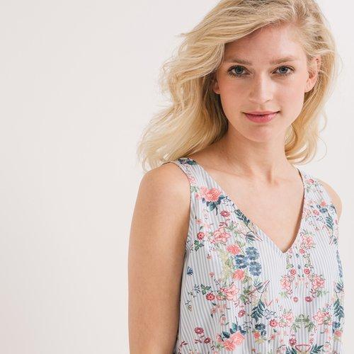 Promod Robe fleurie Femme Imprimé multicolore