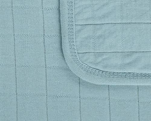 Julius Zöllner Jersey Kuscheldecke Decke Premium ca. 100/120 Greenery
