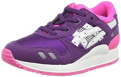 Asics Gel-lyte Iii Ps, Sneakers Basses Mixte enfant - Violet (purple/white 3301), 27 EU