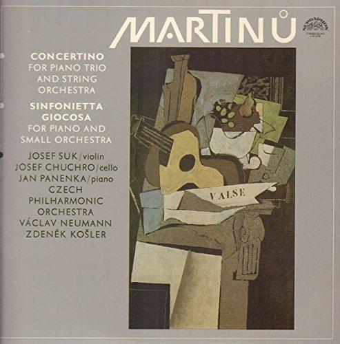 Concertino For Piano Trio And String Orchestra / Sinfonietta Giocosa For Piano And Small Orchestra [Vinyl LP] - Vac Vinyl
