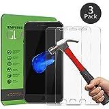 [3 pack] Cherbell - Protector de Pantalla de Vidrio Templado – para Iphone 7 6s 6 (4.7 Pulgadas)