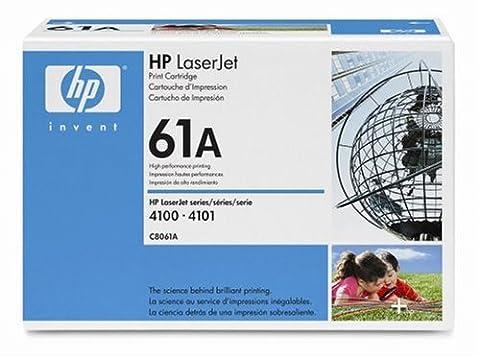 HP Hewlett Packard C8061A laserjet toner cartridge black 61A 4100 4100N 4100DN 4100DTN