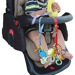 Baby Toys Strap Bottle Strap Protable PP Anti Drop Toys Adjustable Strap Clip Belt Holders