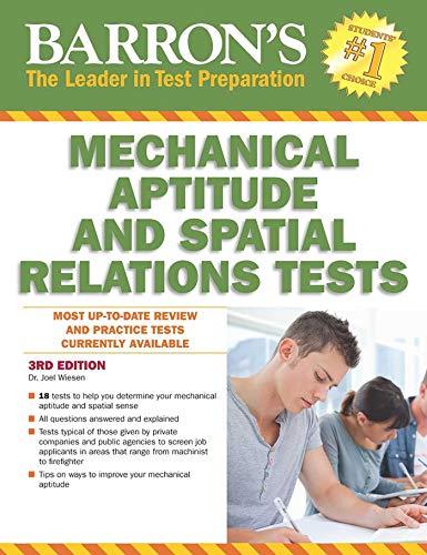 Barron's Mechanical Aptitude and Spatial Relations Test (Barron's Mechanical Aptitude & Spatial Relations Test)
