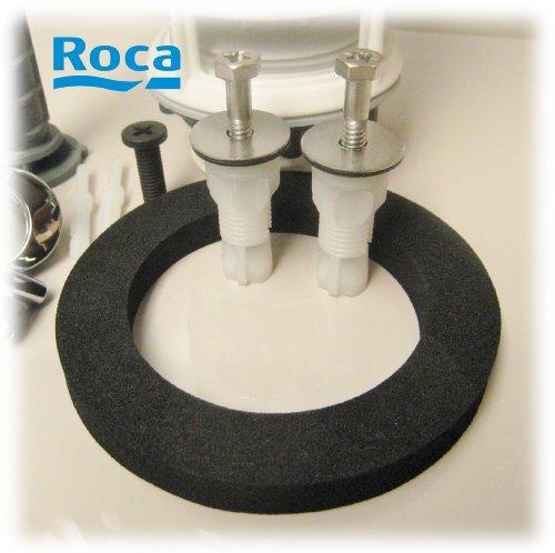 Close Kupplung Unterlegscheibe Roca Senso Donut Blickseite und Bolzen Spülkasten Schrauben durch