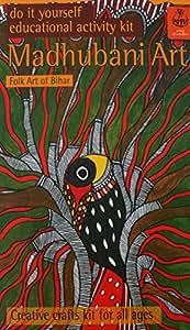 Potli DIY Indian Art Kit Madhubani Painting, Multi Color