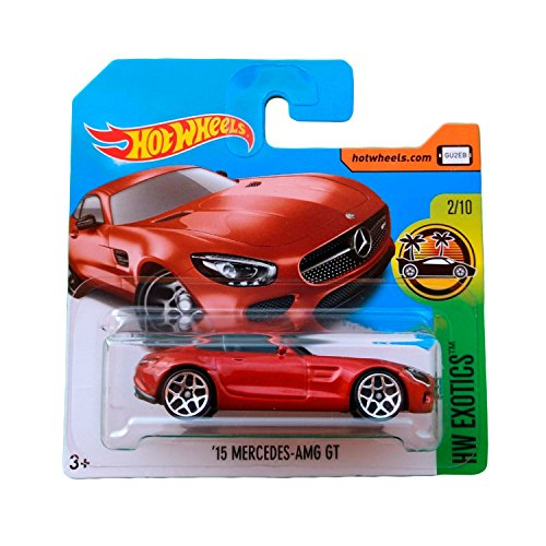 Hot Wheels '15 Mercedes-AMG GT - Serie HW Exotics 2017 - 2/10 (Short Card)