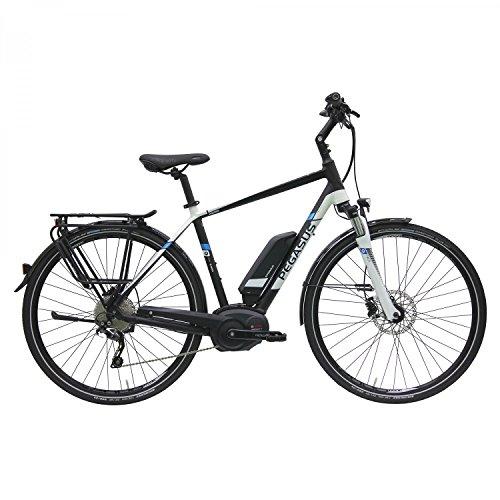 Pegasus Premio E10 500Wh Herren E-Bike Pedelec 2016, Farbe:Schwarz;Rahmenhöhe:58 cm