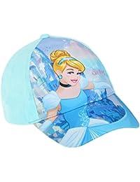 Casquette enfant fille Disney Princesse Cendrillon Bleu de 3 à 10 ans
