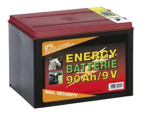 Kerbl Weidezaunbatterie Trockenbatterie Batterie Zink Kohlenstoff 9V 90Ah 441213