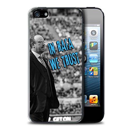 Offiziell Newcastle United FC Hülle / Case für Apple iPhone 5/5S / Pack 8pcs Muster / NUFC Rafa Benítez Kollektion Wir Vertrauen