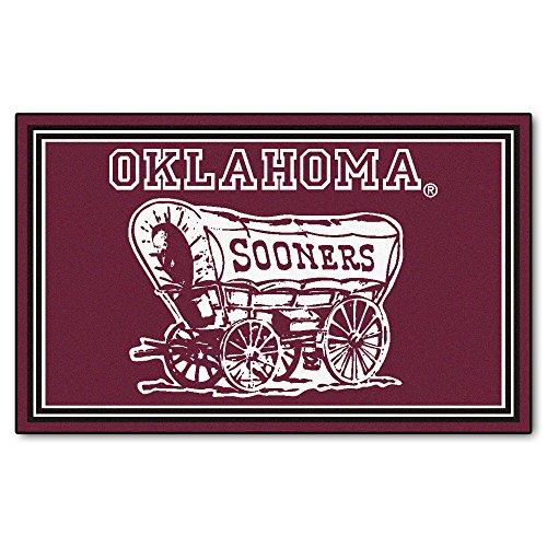 Fanmats 6297Universität von Oklahoma 4x 6Teppich