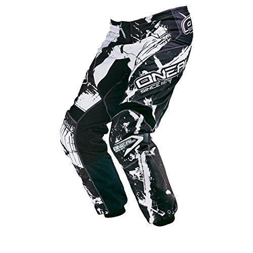 O\'Neal Element MX Hose Shocker Schwarz Weiß Motocross Enduro Offroad, 0124-6, Größe 32/48