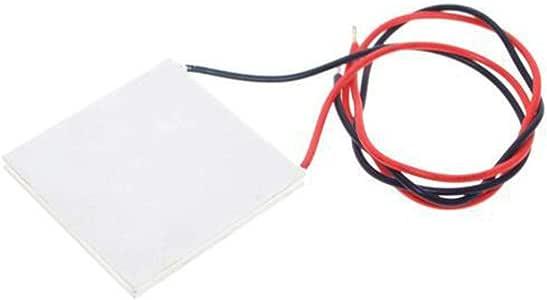 TEC1-12706 12706 TEC Cooler thermo/électrique Peltier 12V 5A Semiconductor R/éfrig/ération Dissipateur Plate Module Regard