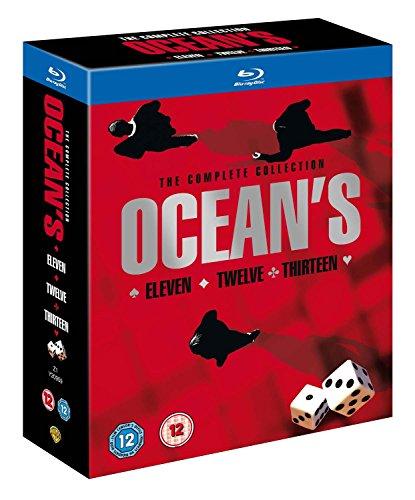 Preisvergleich Produktbild Ocean's Trilogy [Blu-ray] [UK Import]