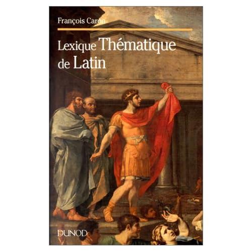 Lexique thématique de latin