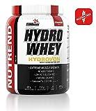 Whey Isolate Hydro-Protein durch Nutrend Erdbeergeschmack 800g Hydrolysat Aminosäure Gespenst - Tolerase ™ L, Chrom, Vitamin B3