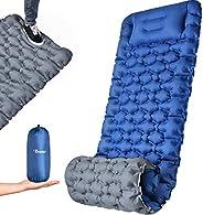 OCOOKO Esterilla Camping Colchon Autohinchable : Ultraligero Colchón Hinchable Colchón de Aire Portátil y Pleg