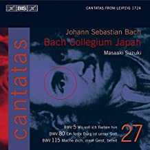 J. S. Bach: Cantatas BWV 5, 80, 115