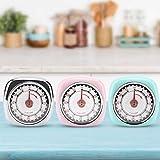 Kookwekker, roestvrijstalen kookwekkerherinnering Home Kitchen Cooking Tools(Roze)