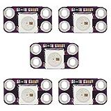 Strumenti fai da te, LDTR-LB0001 Mini WS2812B RGB LED a colori a 4-Pin Moduli (5PCS) Accessorio Arduino.