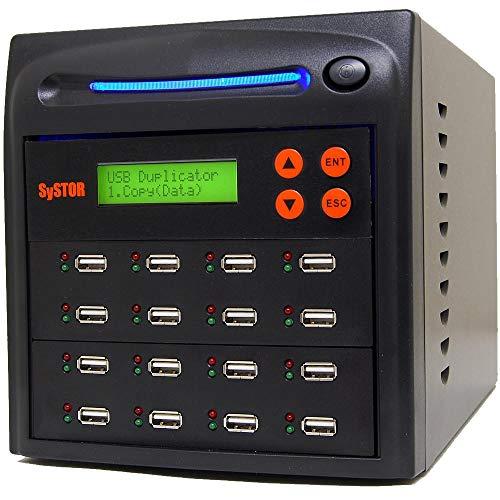 Systor 1-15 Multi USB Speicherstick Kopierstation / Flash USB -