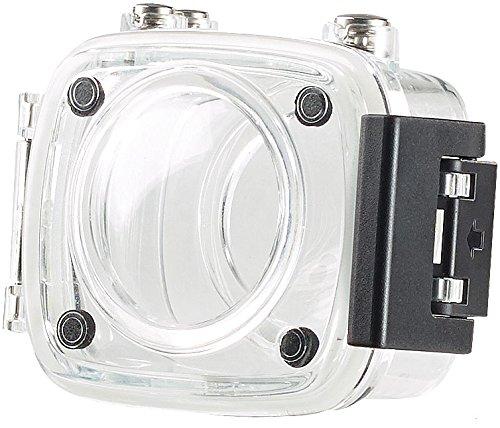 Somikon Zubehör zu 360 Grad Kamera: Kamera-Unterwassergehäuse für 360°-Action-Cam DV-1936.WiFi, IPX8 (Actioncam für Selfie-Stick)