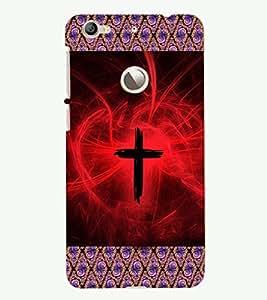 PRINTSHOPPII JESUS Back Case Cover for LeTV (LeEco) Le 1s