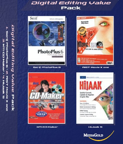 Digital Editing Value Pack (Serif PhotoPlus, IMSI HiJaak, NTI CD Maker, AIST Movie)
