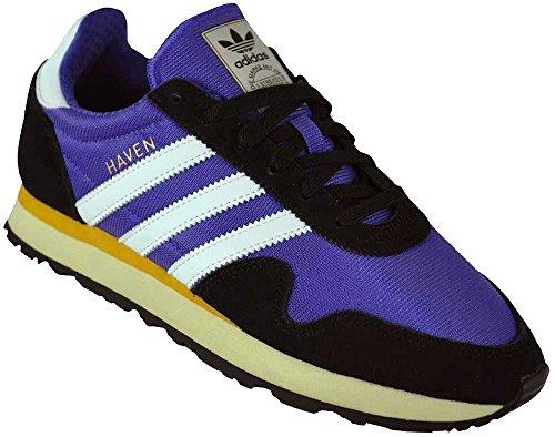 Adidas Haven, Chaussures de Fitness Homme, Multicolore-Blanc/Noir (Tinene/Ftwbla / Negbas), 46 EU