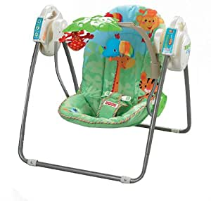 Fisher Price Rainforest Open Top Take Along Swing Amazon