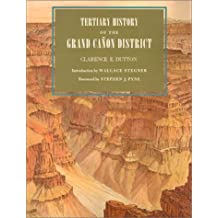 Tertiary History of the Grand Canon District