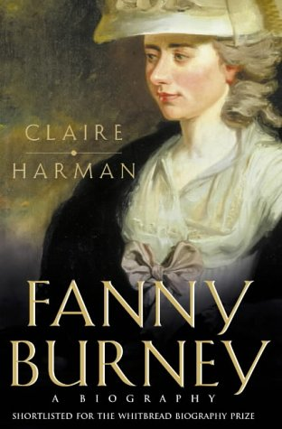 Fanny Burney: A biography