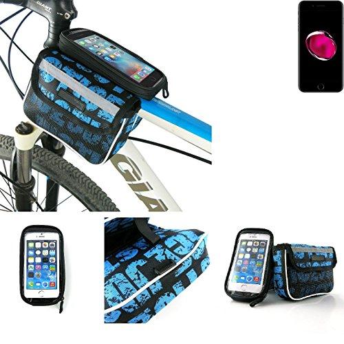 Bolso Bolsa Funda Bicicleta para Apple iPhone 7 Plus, Funda Móvil soporte...