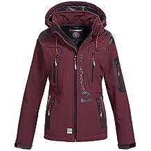Geographical Norway Lady Chaqueta funcional al aire libre para mujer Softshell Jacket