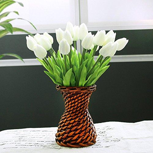 fiori-artificialicozyswan-24-pcs-pu-tulip-real-touch-latex-tulipano-per-la-cerimonia-nuziale-per-la-