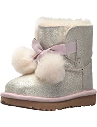 UGG 35 36 UK 4 pink Glitzer Stiefel Boots Lammfell in