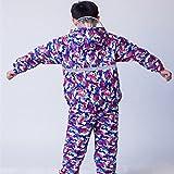 LL Impermeabile per bambini Ragazzi e ragazze separati impermeabili pantaloni impermeabili Studenti abbigliamento da pioggia tuta Impermeabile doppio strato Completi ragazzo e ragazza impermeabile ( Colore : D , dimensioni : M )